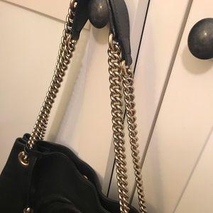 Gucci Bags - Gucci Soho Black leather Shoulder Bag